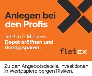 flatex - Depot eröffnen beim Testsieger
